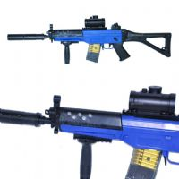 Double Eagle M82 Rapid Fire Electric 555 BB Gun (Sig 552 Style)